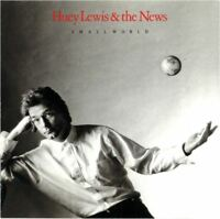 HUEY LEWIS & THE NEWS small world (CD, album) rock & roll, very good condition
