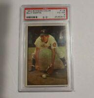 1953 Bowman Color #118 Billy Martin PSA 4 VG-EX New York Yankees