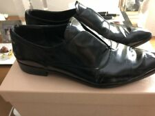 Prada black flat men's wear inspired shoe