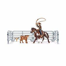 Schleich Nr. 41418  Team roping mit Cowboy  Neu ! Neuheit 2017