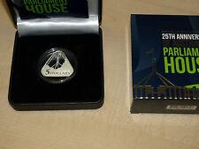 First Triangular Coin Australia 2013 25th anniversary of Parliament House CoA