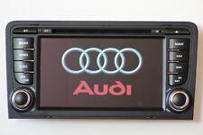 2 DIN Radio de Voiture Navigateur DVD GPS Mp3 Bluetooth pour Audi A3 S3