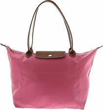LONGCHAMP Le Pliage Medium Folding Tote Fig Pink Handbag Shoulder Bag New