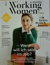 Working Women emotion Nr.1 Winter 15/16+28 Seiten Mode neuwertig/ungelesen 1A