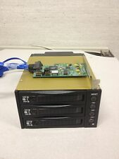 SATA SAS Backplane RAID Enclosure 3 Bays  with RocketRAID 2300 PCI CARD
