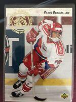 92-93 Upper Deck Pavol Demitra Rookie # 602
