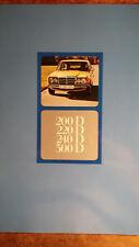 Prospekt Brochure 1976 Mercedes Benz W123 200D 220D 240D 300D