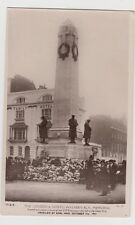 LONDON & NORTH WESTERN RAILWAY  MEMORIAL EUSTON, UNVEILED BY EARL HAIG 1921,RPPC