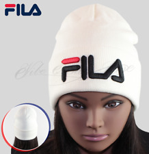 11b4cb8dfad Fila winter hat beanie hat cap in white for men women with tags   bag US