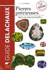 Pierres précieuses, fines et ornementales, guide Delachaux