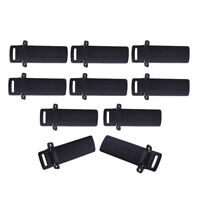 10 Pcs/Set Two-Way Radio Walkie Talkie Belt Clips For Baofeng UV-5R Series