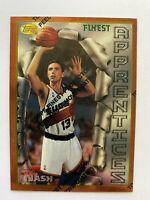1996-97 STEVE NASH Topps Finest Bronze Rookie #75, Phoenix Suns RC, 2x MVP