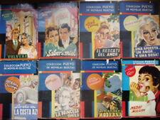 NOVELAS ROMANTICAS MUY ANTIGUAS AÑOS 40-50 COLECCION PUEYO NOVELAS SELECTAS