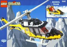 Lego 5542 Model Team BLACK THUNDER Helicopter w/Instructions