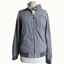 Maison Scotch Damen Jacke Jacket Bomberjacke Harrington Gr.2 (D38) Kariert 77115