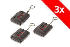 3 x Sommer Handsender 4050 Mini 40,685 Mhz 2-Befehl TX02-40-2 Fernbedienung Funk