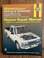 Repair Manual Haynes 72030 Nissan Datsun Pick Up 80 To 87 & Pathfinder 87 To 95