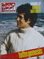 CIAO 2001 39 1982 Lucio Battisti Genesis Neil Young Randy California Zappa