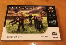 """MasterBox #3536 German Tank Crew """"Out of the Frying Pan"""" 1/35 Scale Military Kit"""