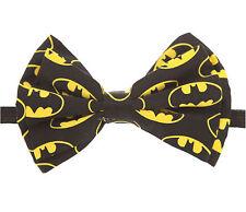 DC Comics Batman Bat Logo Adjustable Classy Bow Neck Tie Cosplay Dress-up NEW