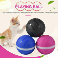 Pet Toy Wicked Ball Interactive Waterproof  LED Flash Automatic Rotation Cat Dog