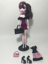 Monster High Draculaura Doll Outfits Pink Purse Boombox Purse Shoes