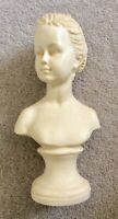 PAST TIMES BUST FIGURINE SCULPTURE LADY