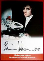 SPACE 1999 - BRIAN JOHNSON - SFX - AUTOGRAPH CARD BJ1 - Unstoppable - BLACK INK