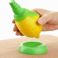 2 Pcs Lemon Juice Sprayer Citrus Spray Hand Fruit Juicer Squeezer Lime Kitchen