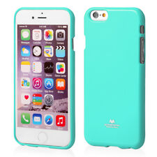 iPhone 6 Plus and 6s Plus Genuine Mercury Goospery MINT Green Jelly Case Cover