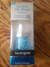 Neutrogena Hydro Boost City Shield Hydrating Eye Serum, 0.47 oz New