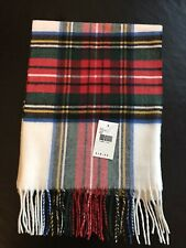 Soft Plaid Winter Scarf For Man Or Woman - New With Tag