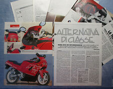 MOTOSPRINT990-PROVA / TEST-1990- GILERA MX-R 125 TOP ENDURANCE - 7 fogli