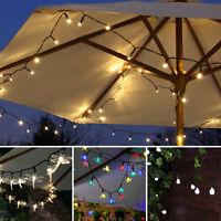 Solar Power Outdoor LED Fairy Party Lights | Garden Dragonfly Star Blossom