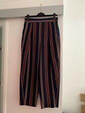Zara Blue Stripe Trousers (Large)