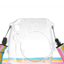 Fujifilm Instax Mini 8 /8+ 9 Film Instant Camera Clear Hard Case Bag Cover Sh Hw
