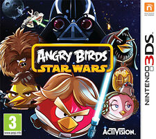 Nintendo 3ds Game Angry Birds Star Wars Enger Boxed