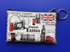 Londra Inghilterra Moneta Portamonete Portafoglio Souvenir Regalo