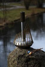 Whalophone - Turtle Drums classic waterphone - 24 brass rods! Bow included!