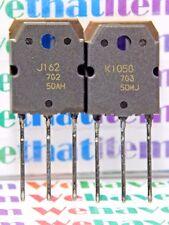 2SJ162 & 2SK1058 / J162 & K1058 / FET / TO3P / 1PAIR =1 PIECE OF EACH FET (qzty)