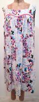 OOAK Women's Plus Size Lovely Handmade Floral Lounger House Dress MuuMuu
