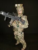 1/6 GERMAN MARINE SPECIAL FORCES AFGHANISTAN. WITH WORKING NIGHT VISION.