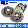 EBC Discos de freno delant. PREMIUM DISC PARA MERCEDES-BENZ CLASE S W140 D653