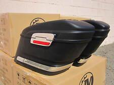 HL MATTE BLACK  Hard Saddle bags  FOR HD Softail Sportster Dyna Road King Glide