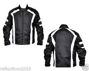 Motorcycle Jacket Stripes CE Armor Motorbike Waterproof Textile Biker Jacket