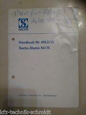 Handbuch für Sachs Stamo 50/75 Nr.: 410.2/10