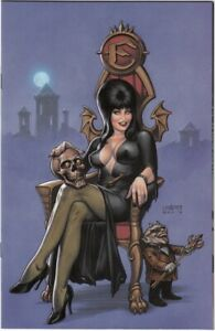Elvira Mistress of the Dark #1 NM- Limited 1:20 Retailer Linsner Virgin Variant