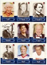 2011 In The Game Canadiana 100-Card Blue Parallel Base Set