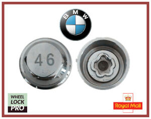 New BMW Locking Wheel Nut Key Number 46 - UK Seller