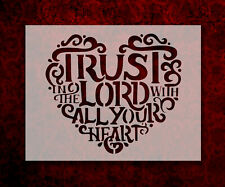 Trust in the Lord Heart 8.5